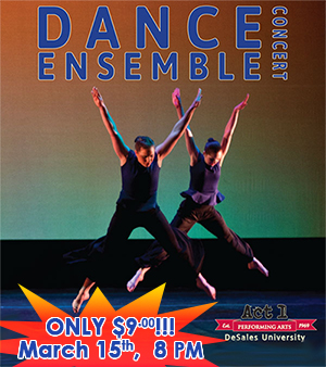 DeSales Dance Ensemble Concert