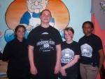 Chef Jackie Mathais , Isaiah Robinson, Ronnie Yerk and Adrianna Douglas.
