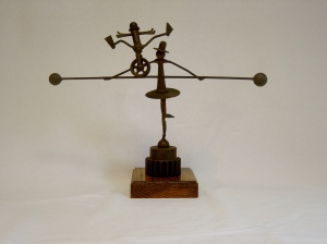 Phil Smith:  Metal sculpture by Phil Smith, Norristown.