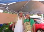 iCreate owner Ashraf Khalil  (right) and awesome helper Bruce.