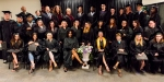 GED 2: GED graduates stand with faculty, staff and community supporters.Photos by Sandi Yanisko