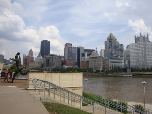 Downtown Pittsburgh as seen from PNC Park across the Allegheny River