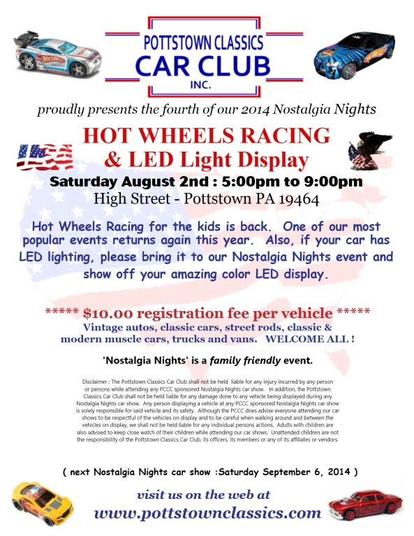 Pottstown Classics August show