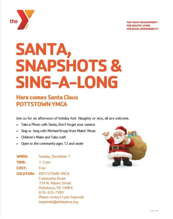 Santa Sing Along YMCA