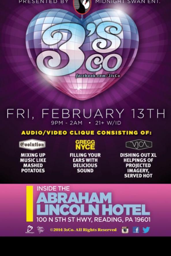 Abraham Lincoln Hotel Valentine's Day
