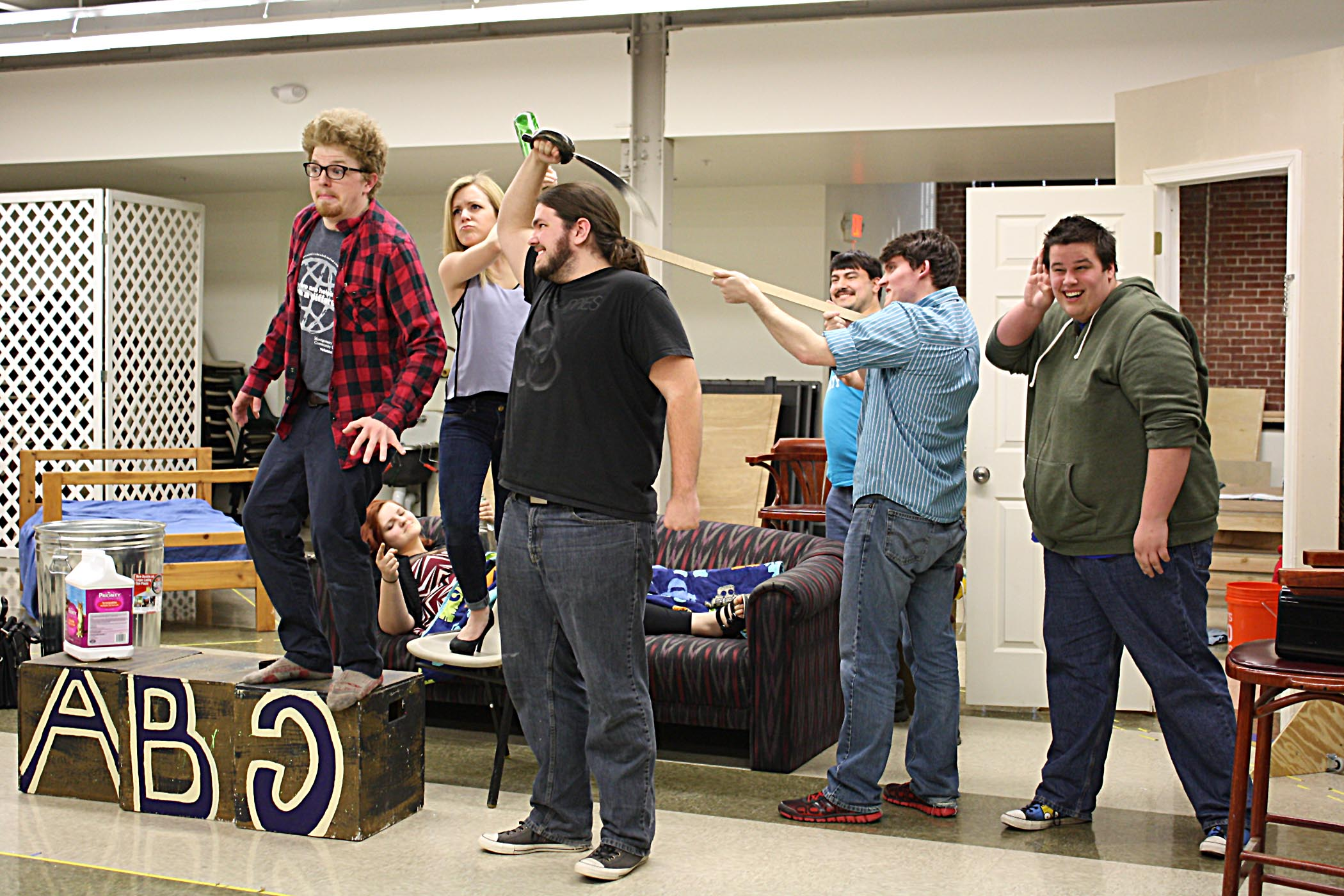 Montgomery county community college west end student for Farcical black comedy