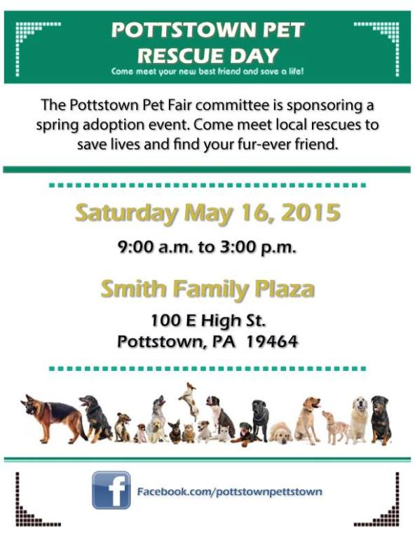 Pottstown Pet Rescue Day