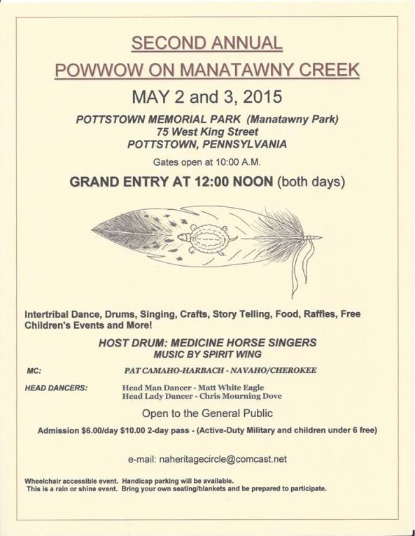 Second Annual Powwow Pottstown