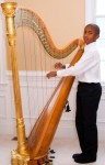 Harpist:  Harpist Michael Turner of Phoenixville, a seventh grader at The Wyndcroft School in Pottstown, won first place in the Junior Musica Diversa Division of the 73rd Annual Tri-County Youth Festival and will be performing at the winners' recital on Saturday, June 6, at 7 p.m. at Montgomery County Community College's Science Center Theater, 340 DeKalb Pike, Blue Bell. Tickets cost $10 and will be available at the door; students are free. For further information, call 610-649-2517 or visit www.tricountyconcerts.org. Photo courtesy of Tri-County Concerts Associations, Inc.