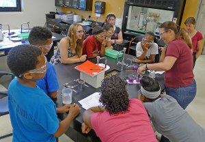 Scenes from the Green Science, Technology, Engineering and Mathematics program in 2014 held at Montgomery County Community College's West Campus in Pottstown.