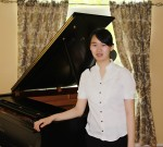Pianist:  Connie Jiang of Harleysville, an eighth grader at Pennfield Middle School won second [lace in the Junior Piano Division.Photo courtesy of Tri-County Concerts Associations, Inc.