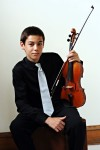 Violinist:  Ethan Frankel of Royersford, an eighth grader at Spring-Ford Middle School won first place in the Junior Strings Division. Photo courtesy of Tri-County Concerts Associations, Inc.