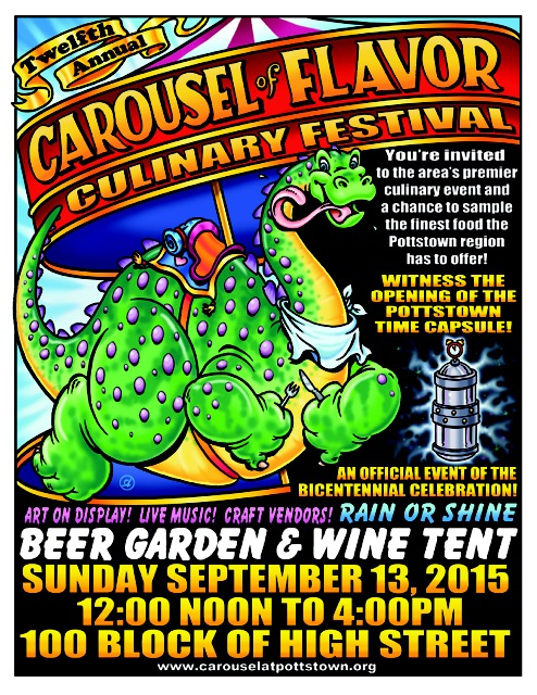 2015 POSTER Carousel of Flavor