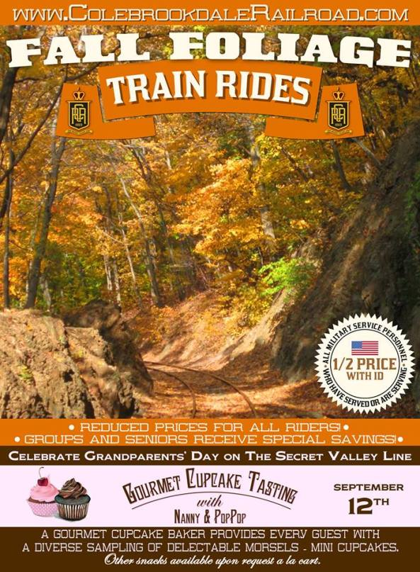 Colebrookdale Fall Train