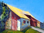 Yellow Roof by Sherry McVickar