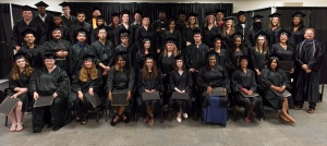 GED 2016 Group: Sixty-one students graduated from Montgomery County Community College's GED program on June 15, 2016. Included in this class is the program's 1,000th graduate.  Photo by Sandi Yanisko