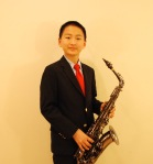 Patrick Li, of Audubon, in 7th grade at Arcola Middle School, won first place in the Junior Winds Division of the 74th Annual Tri-County Youth Festival.