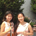 Flutist Kara Yoo and violinist Sophia Yoo, of Souderton, won second place in the Senior Ensemble Division of the 74th Annual Tri-County Youth Festival. The sisters are home-schooled.