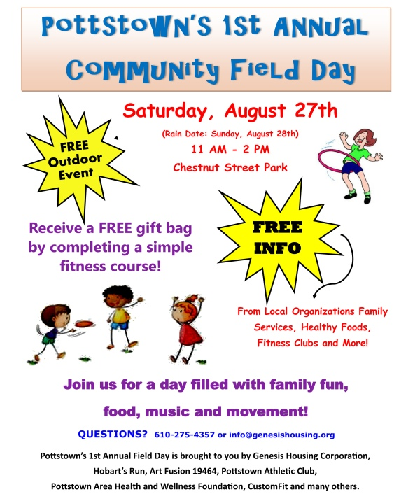 Community Field Day Flyer