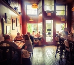 Firefly Interior: Fire Cafe offers diners a cozy and relaxed atmosphere in downtown Boyertown.
