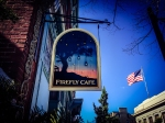 Firefly Sign: Firefly Cafe is located at 12 N. Reading Ave., Boyertown.
